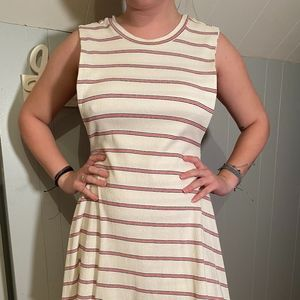 Boutique Striped Open Sides Dress